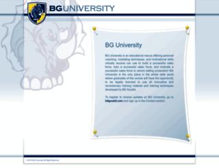 bguniversity.org screenshot