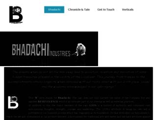 bhadachi.com screenshot
