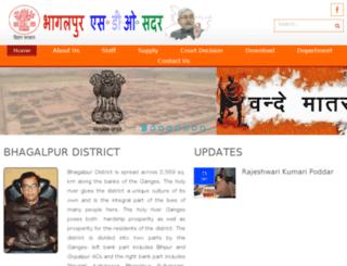 bhagalpursdosadar.in screenshot