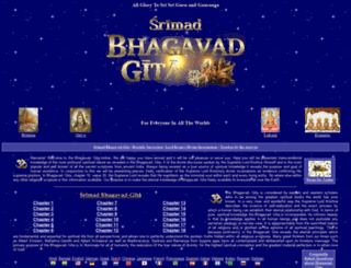 bhagavad-gita.org screenshot
