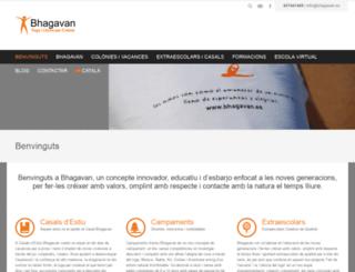 bhagavan.es screenshot