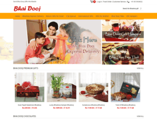 bhaidooj.com screenshot