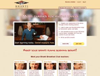 bhaktibreakfastclub.com screenshot