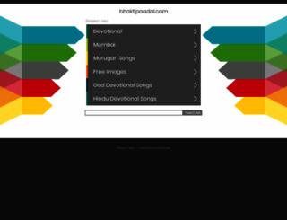 bhaktipaadal.com screenshot