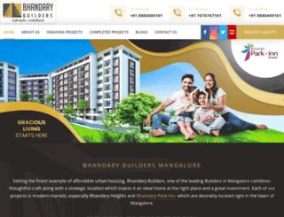 bhandarybuilders.com screenshot