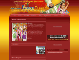 bhangraflames.com screenshot