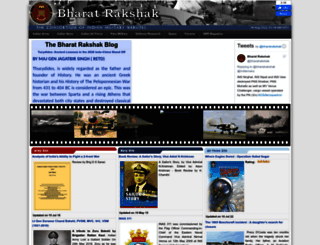 bharat-rakshak.com screenshot