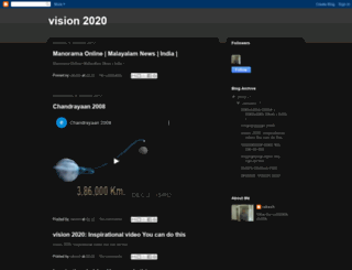 bharat-vision2020.blogspot.com screenshot