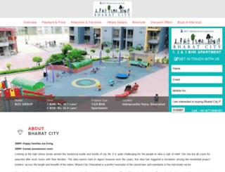 bharatcity.org.in screenshot