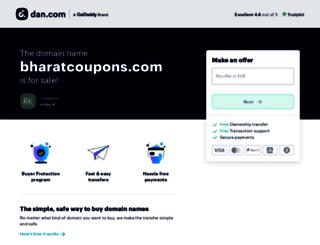 bharatcoupons.com screenshot