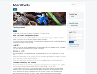 bharathedu.com screenshot