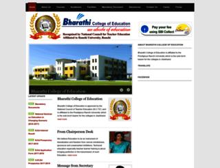 bharathiedu.com screenshot