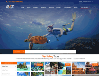bharathtravels.com screenshot