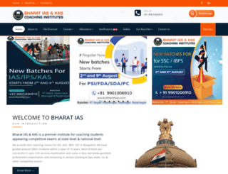 bharatias.com screenshot