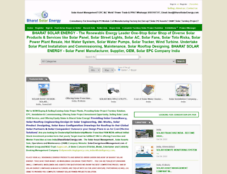 bharatsolarenergy.com screenshot