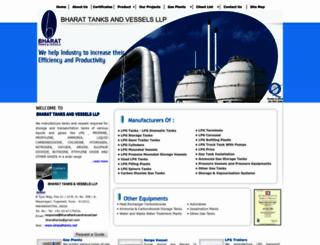 bharattanksandvessel.com screenshot