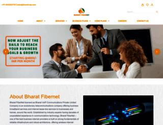 bharatvoip.com screenshot
