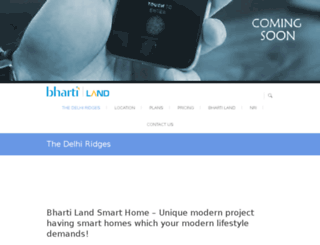 bhartithedelhiridges.org screenshot