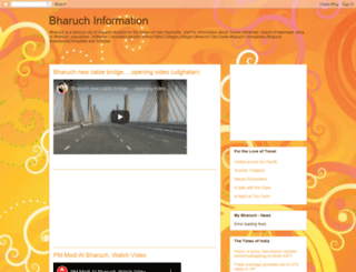 bharuchinfo.blogspot.co.nz screenshot
