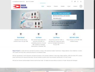 bhasin-packard.com screenshot