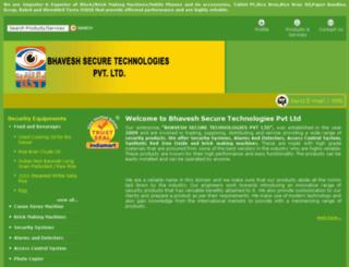bhaveshsecure.com screenshot