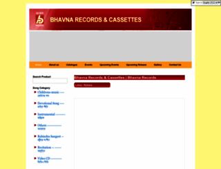 bhavnarecords.com screenshot
