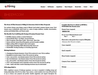 bheem.com screenshot