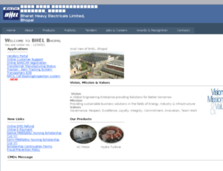 bhelbhopal.com screenshot