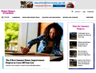 bhg.com screenshot