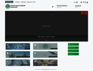 bhi.kocaeli.edu.tr screenshot