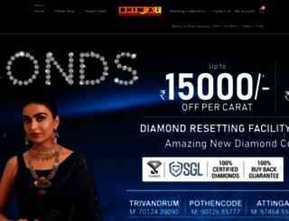 bhimajewellery.com screenshot