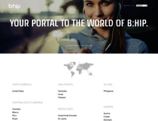bhipglobal.com screenshot