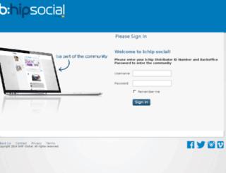 bhipsocial.com screenshot