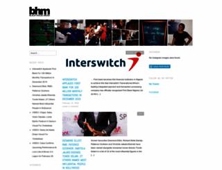 bhmnigeria.wordpress.com screenshot