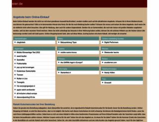 bhoffmeier.de screenshot