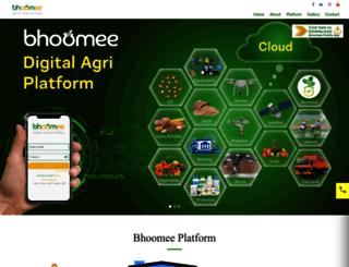 bhoomee.co.in screenshot