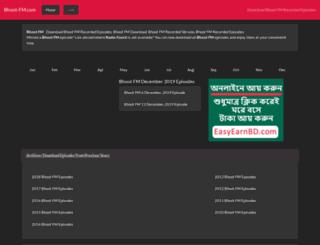 bhoot-fm.com screenshot