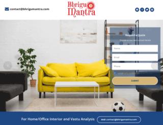 bhrigumantra.com screenshot