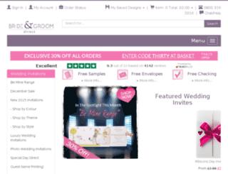 bhs-weddingstationery.co.uk screenshot