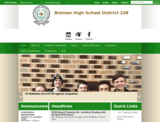 bhsd228.schoolwires.net screenshot