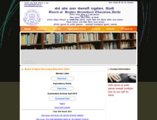 bhsedelhin.org.in screenshot