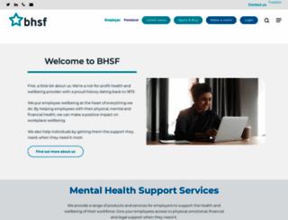 bhsf.co.uk screenshot