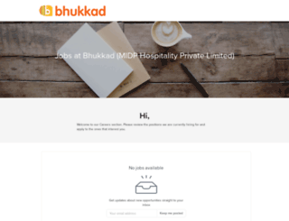 bhukkad.recruiterbox.com screenshot