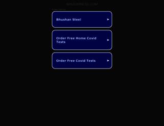 bhushanltd.com screenshot