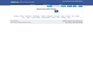 bhutan.hotbizzle.com screenshot