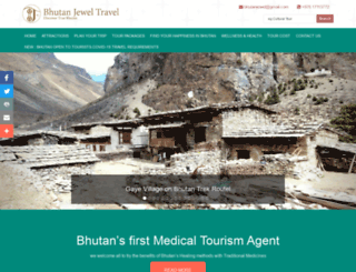 bhutanjewel.com screenshot