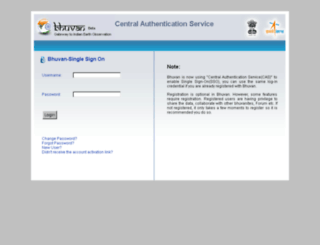 bhuvan-mapper.nrsc.gov.in screenshot