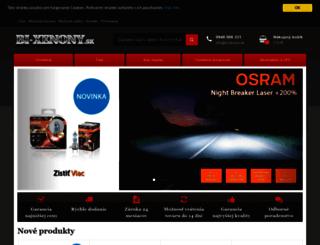 bi-xenony.sk screenshot