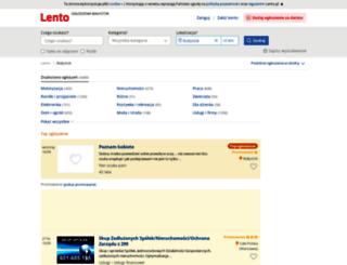 bialystok.lento.pl screenshot
