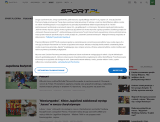 bialystok.sport.pl screenshot